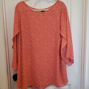 Womens plus size blouse